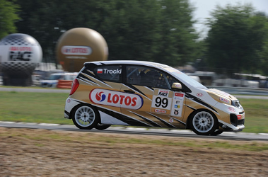 Michał Trocki w Kia Lotos Race