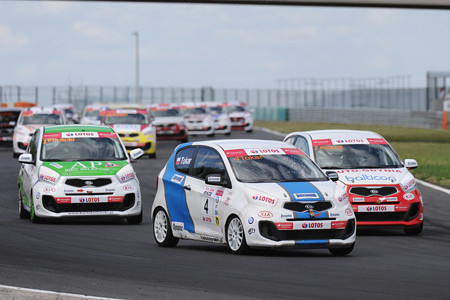 Kia Lotos Race torze Hungaroring
