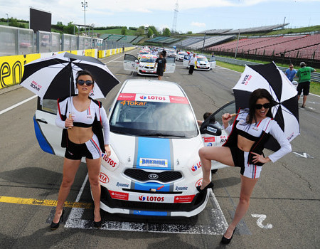 Kia Lotos Race na Hungaroring