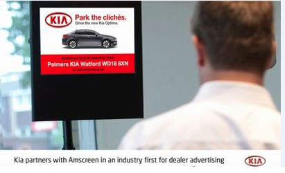 Kia Motors i Amscreen